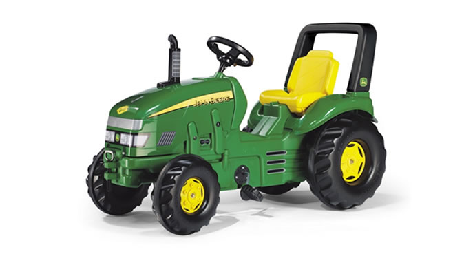 Tractor Toys For Boys : Boys pedal miles away from home on toy tractors newsbite