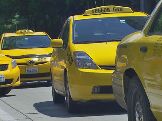 Taxi drivers complain about body odour test