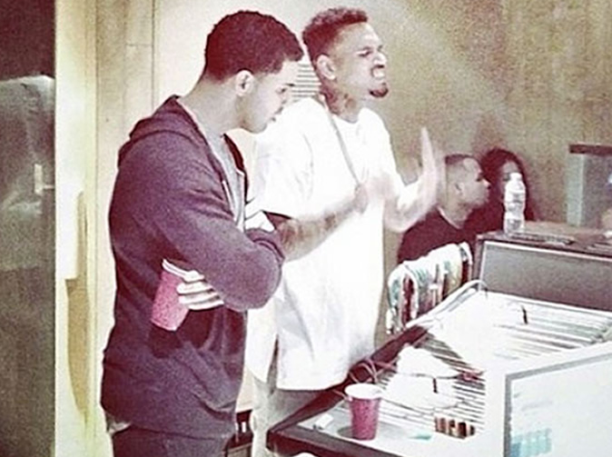 Real reason Chris Brown and Drake working together on new album