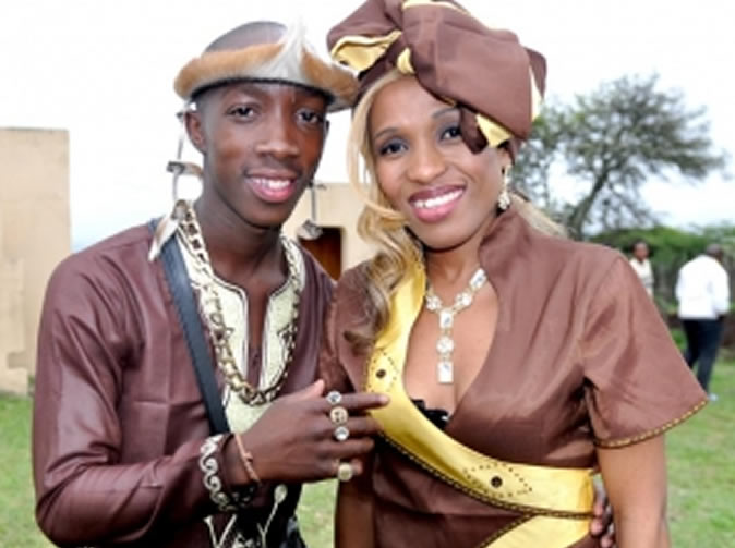 Kwaito singer Msawawa marries his manager