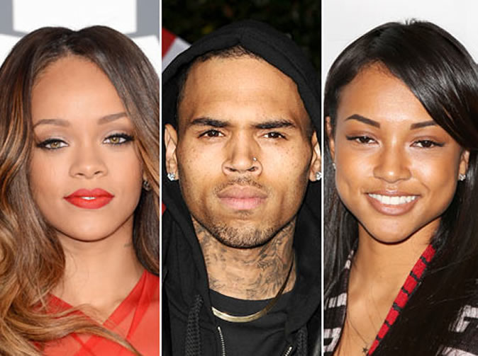 Chris Brown dumped after Rihanna visit