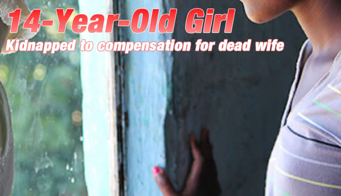 Man (44) kidnaps girl (14) to compensation for dead wife