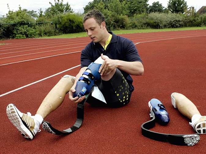 Pistorius may be forced to stay in jail because he has no ankles for electronic tag
