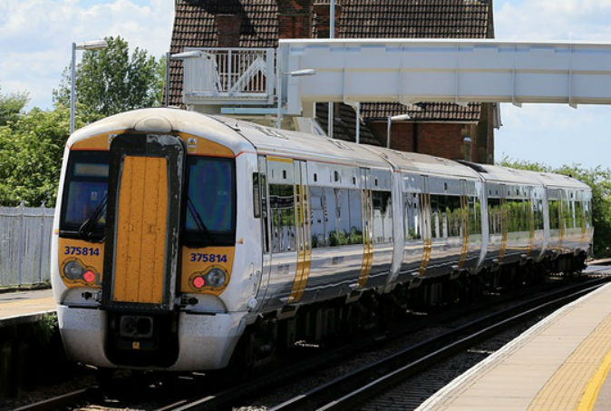 Wrong kind of sunlight delays trains in London