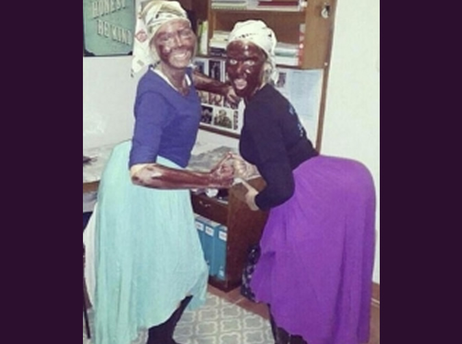 White students disciplined for smearing faces with black paint