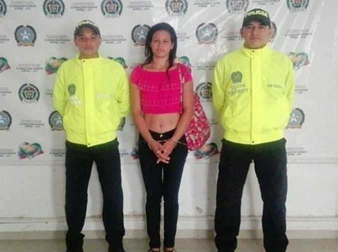'Devil Woman' arrested in Colombia, believed to have carried out 14 contract killings
