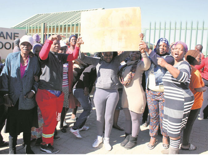 Angry parents storm school after pupil is raped on premises