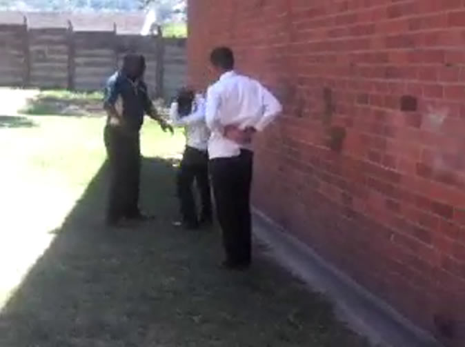 Teacher 'forces pupils to fight'