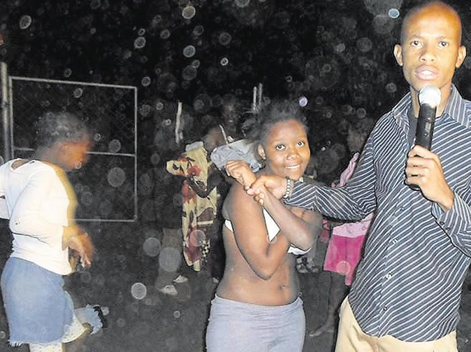 Congregants take clothes off during church service