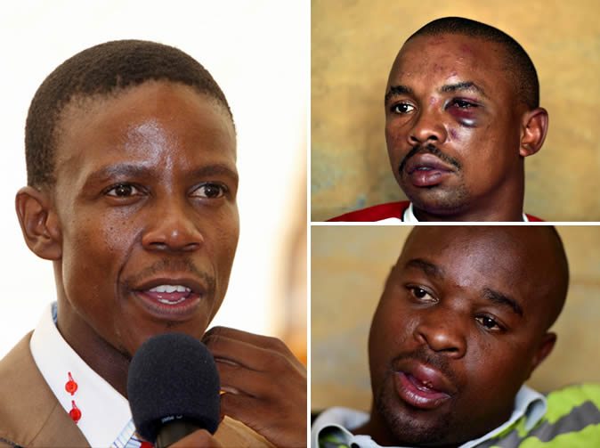 Prophet Mboro's bodyguards accused of beating people up