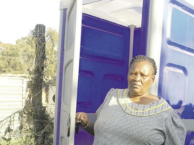 Neighbours at war over toilet