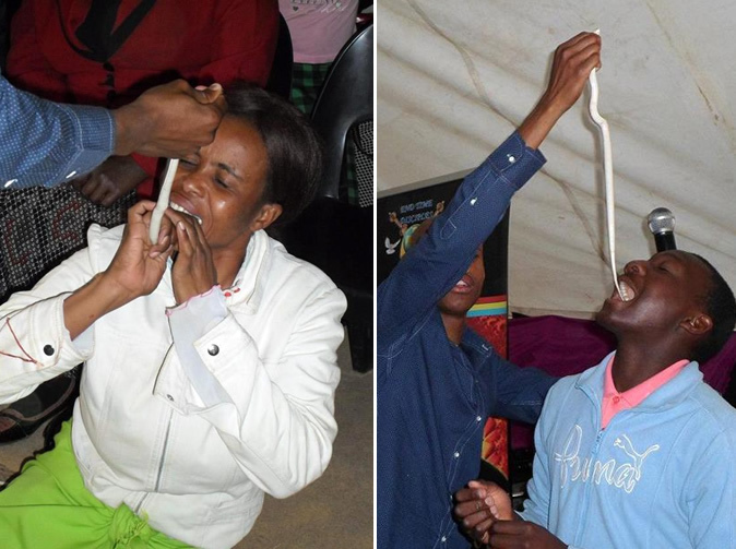 'Snake pastor turns congregants to sheep, snakes and statues'