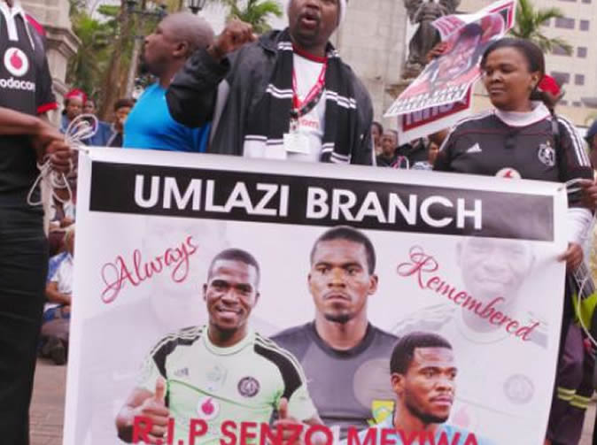 'For me he was Orlando Pirates. I have lost a legend' Senzo Meyiwa fan pays tribute