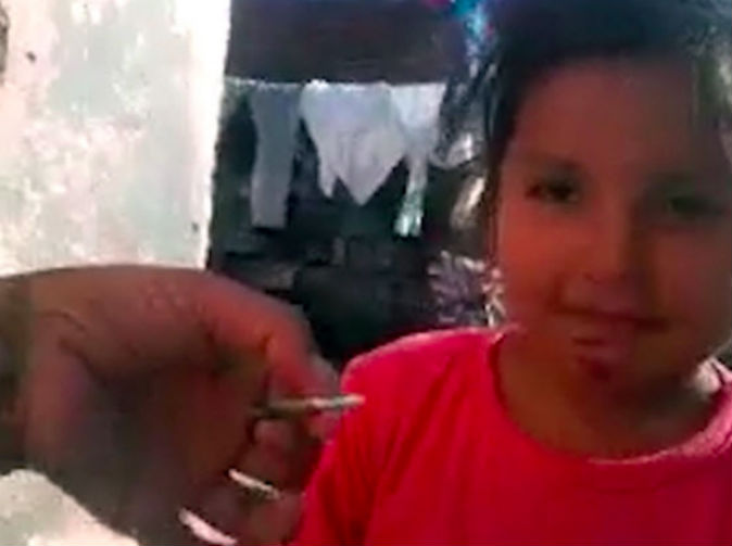 Child forced to smoke cannabis by her 'auntie'
