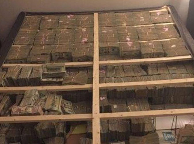 $20 million found hidden under mattress