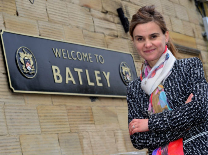 UK MP Jo Cox dies after being shot and stabbed 'by man shouting Britain First'