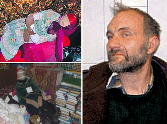 Historian dug up 29 girls' corpses and dressed them for birthday parties