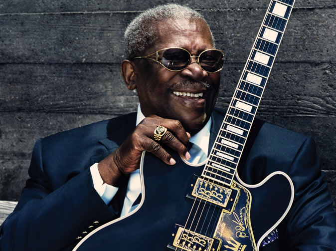B.B. King, blues guitarist dies at 89