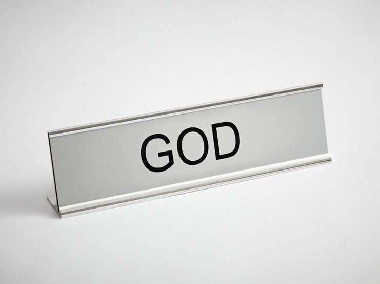 'God' told to change his name