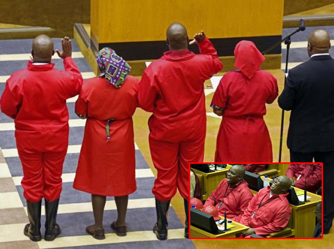 Julius Malema threatens to go to parliament with no clothes on