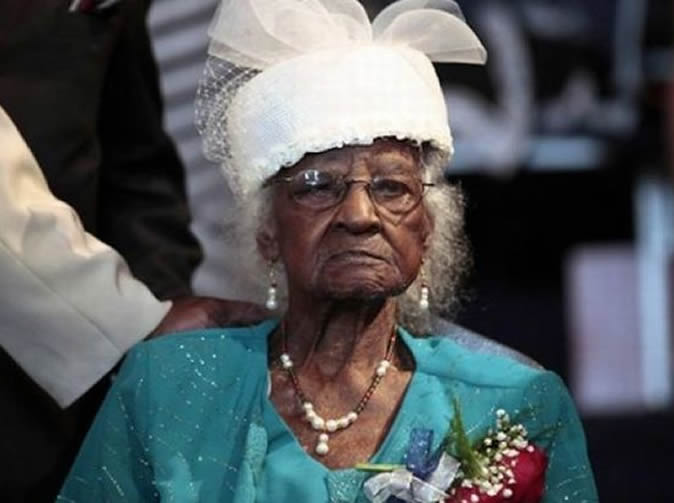 World's oldest woman dies a month after gaining the title