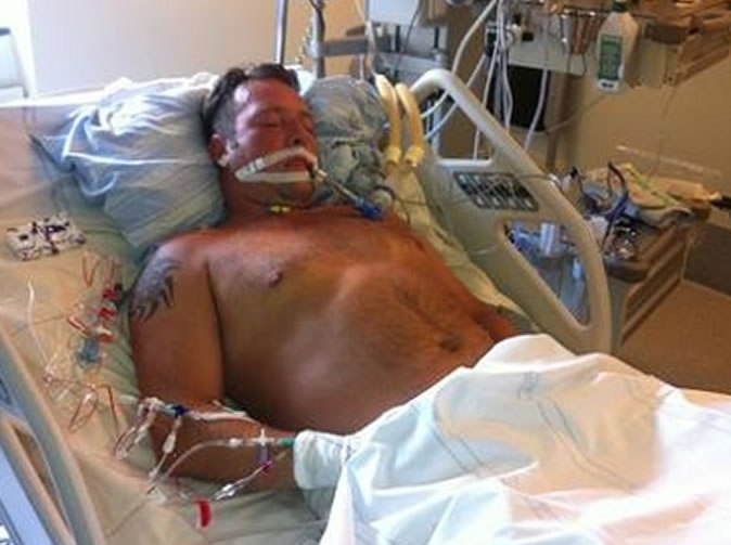 Paralysed man overhears doctors talk about removing his organs