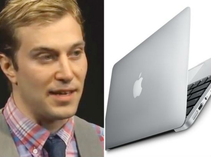 Man wants to marry his MacBook to protest same-sex marriage
