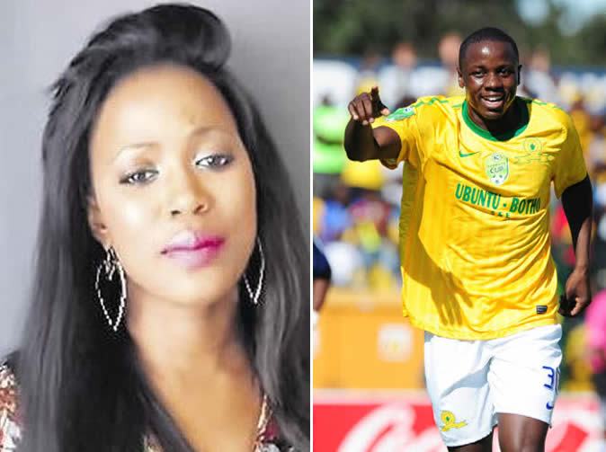 Zimbabwean footballer's wife and child 'living in abject poverty'