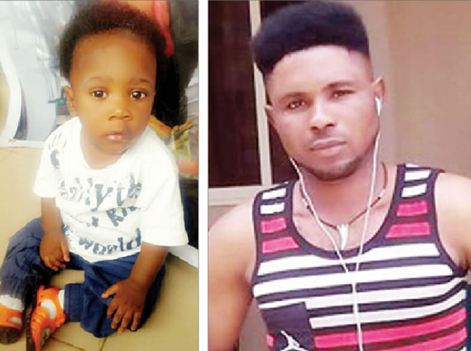Tenant flees with neighbours' 10-month-old son