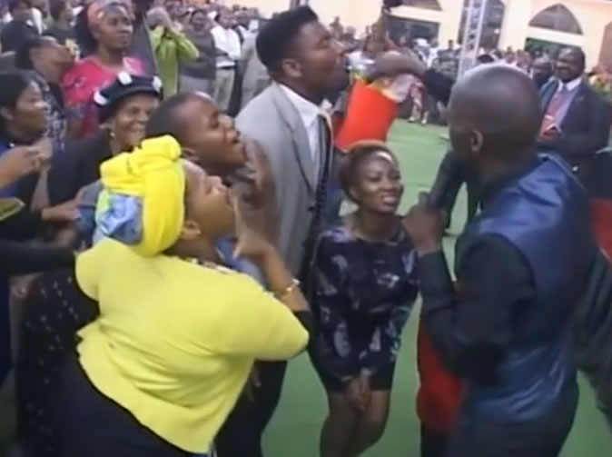 Pastor who made congregation eat grass, makes them drink 'petrol'