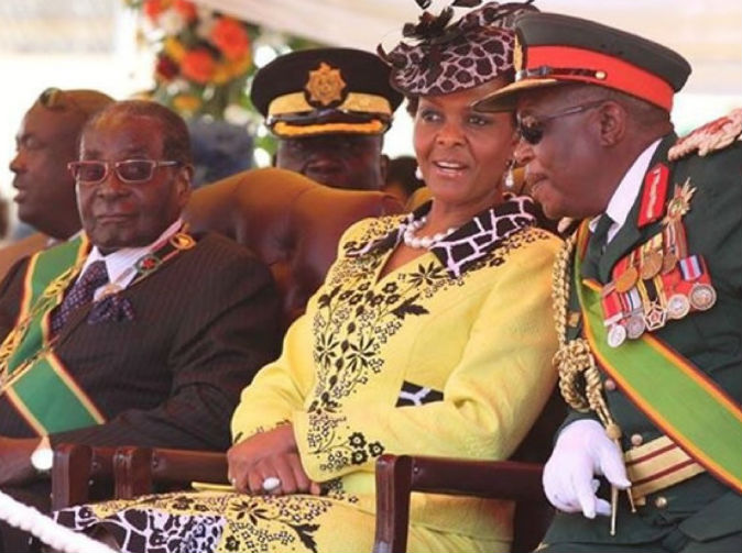 God does not like Mugabe's successors says Grace Mugabe