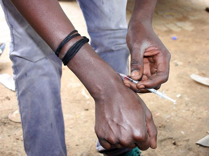 Nyaope addicts share blood to get fix