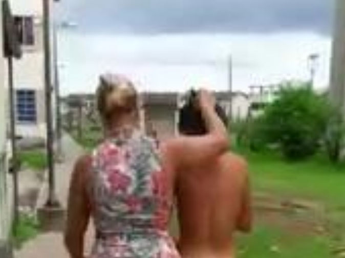 Wife forces love rival to walk the streets with no clothes on