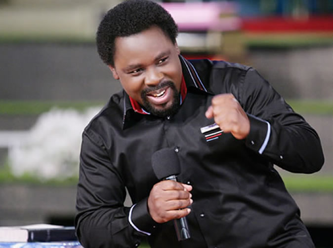 T.B. Joshua 'reveals' source of Ebola