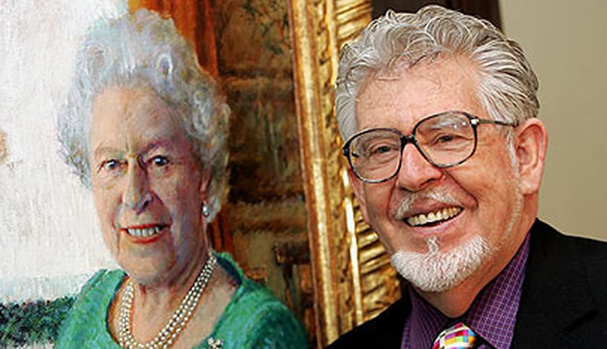 Celebrity painter Rolf Harris charged with child sex offences