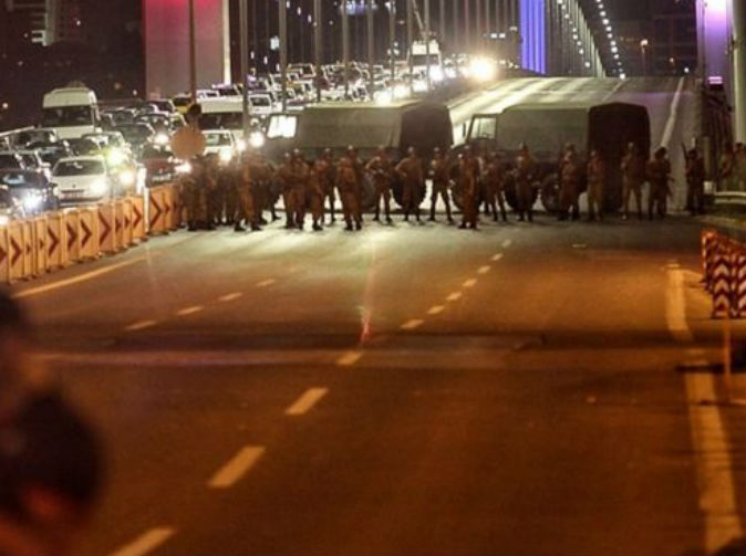 Turkish army attempts coup
