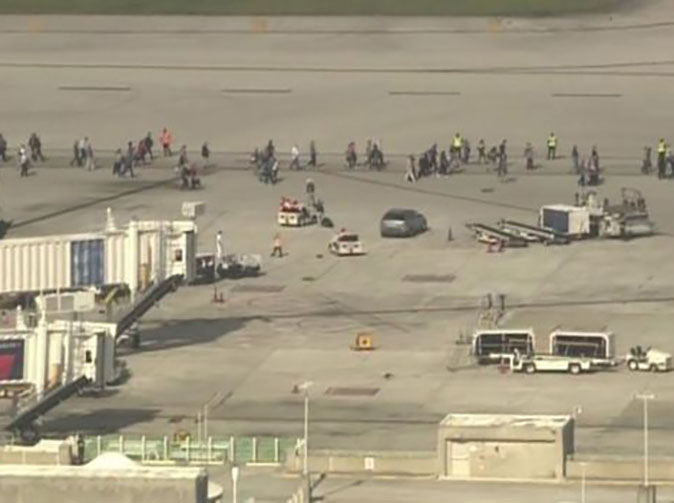 Five people shot dead in Florida airport shooting