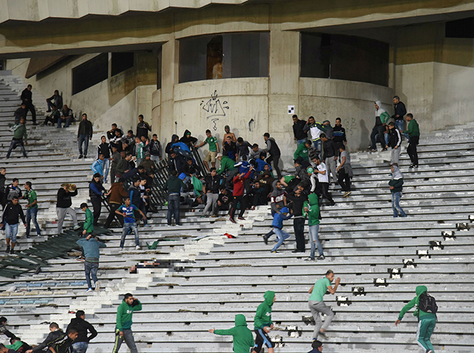 Two dead after massive brawl breaks out at football match