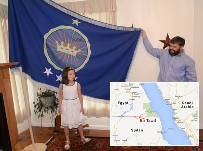 US man claims African land so his daughter can be real princess