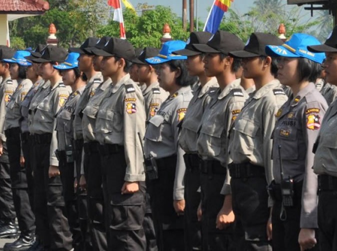 Female recruits into Indonesian police 'forced to remain virgins'
