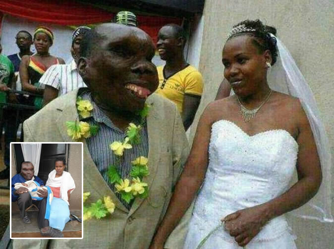 'Uganda's ugliest man' becomes father for 8th time