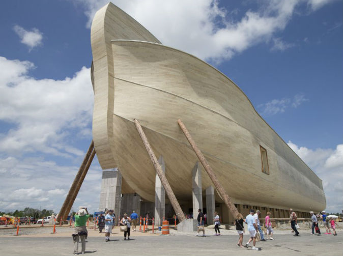 Man builds Noah's ark to prove the Bible was right