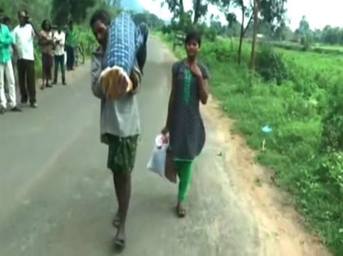 Man carries wife's body for 7 miles after 'hospital refuses to call ambulance'