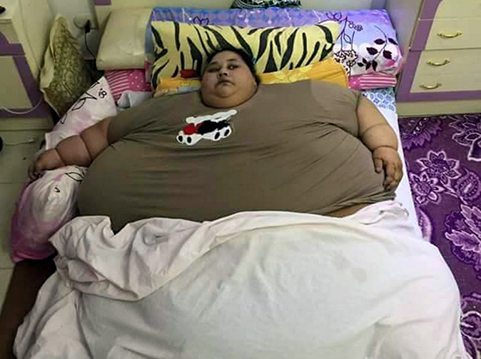 'Fattest woman alive' trapped at home for 25 years