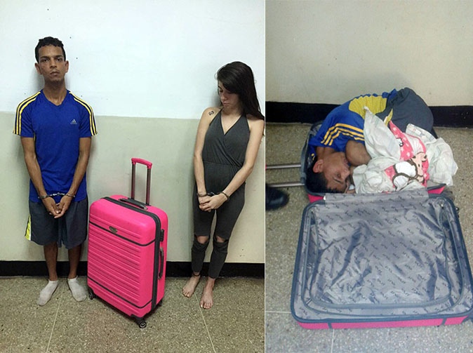 Woman 'tries to smuggle boyfriend out of prison in suitcase'