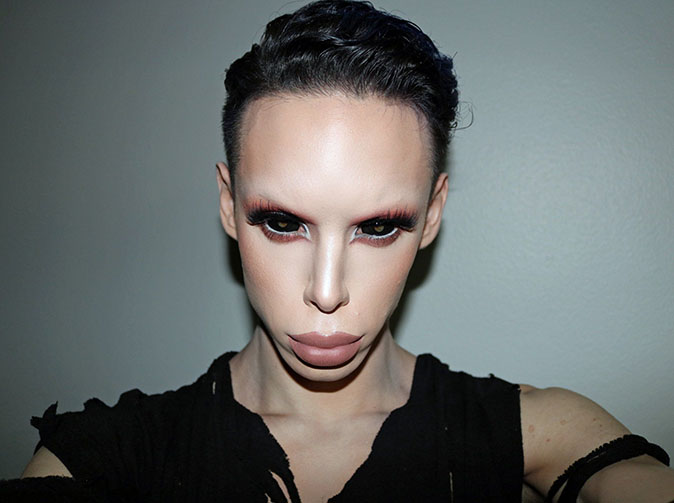 Make-up artist wants genitals removed to become sexless