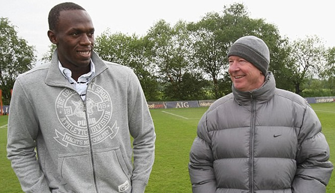 Usain Bolt to play for Manchester united