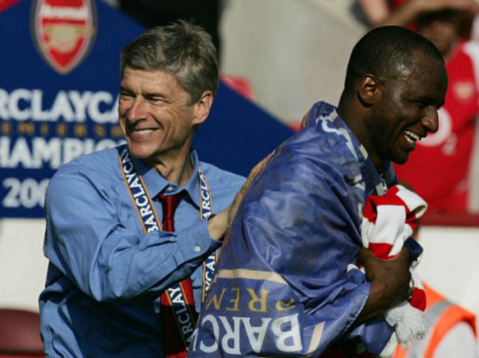 Arsenal hoping to entice Patrick Vieira back and groom him to succeed Arsene Wenger