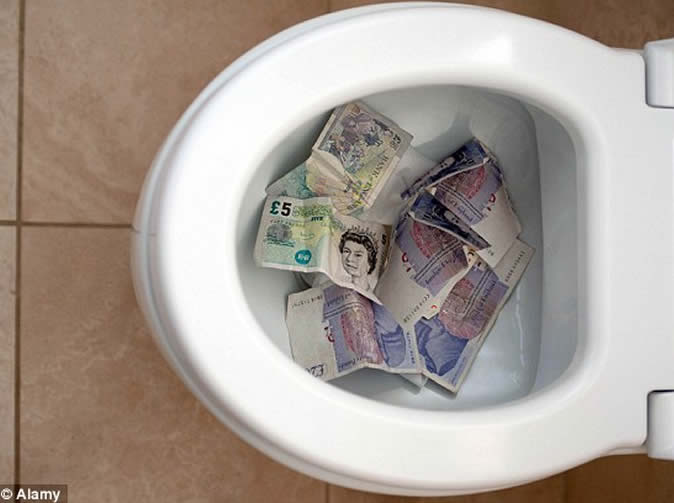 Workers taxed for going to the toilet