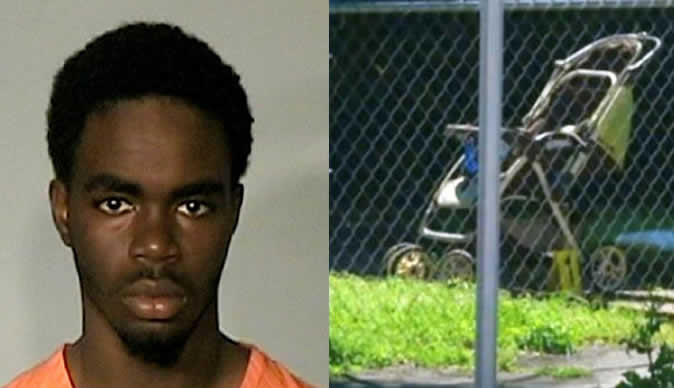 Boys shoot and kill baby for nothing as he sat in his stroller